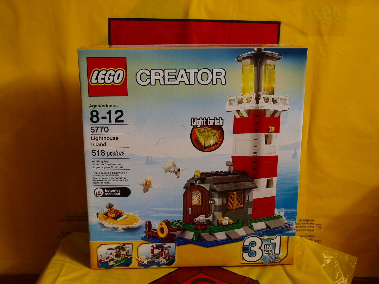NEW LEGO Lighthouse Lighthouse Lighthouse Island 5770 MISB US Seller 8d9ea2