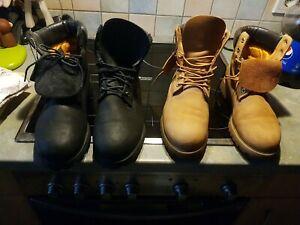 Timberland-6-Inch-Premium-Waterproof-Boots-Schuhe-Winterstiefel-Herren-Braun