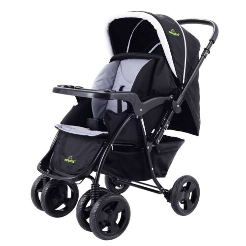 Newborn Baby Two Way Foldable  Kids Travel Stroller Infant Kids Pushchair Buggy