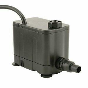 EcoPlus 727800 Pump, 265 GPH, Black
