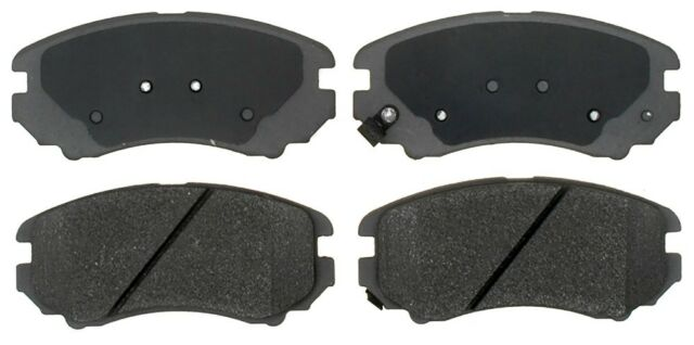 Disc Brake Pad Set-Ceramic Disc Brake Pad Front ACDelco Advantage 14D924CHF1