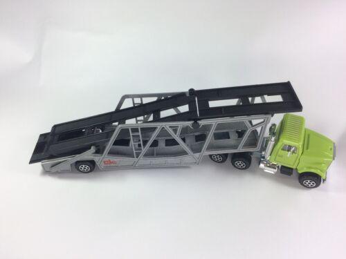 Majorette Car Transporter 1//60 Diecast Green