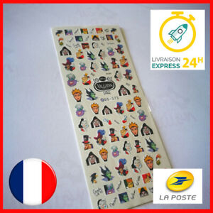 NAIL-ART-DISNEY-MANUCURE-ONGLES-DECO-STICKER-AUTOCOLLANT