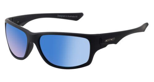 ICE BLUE 53382 DIRTY DOG ICE Mens//Womens POLARISED Sunglasses MATT BLACK