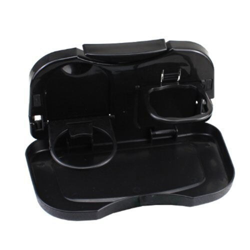 Folding Auto Car Back Seat Table Drink Food Cup Tray Holder Stand Desk In ZX