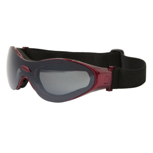 Sport Goggles Foam Padded and adjustable strap Red frame dbc-g819-red