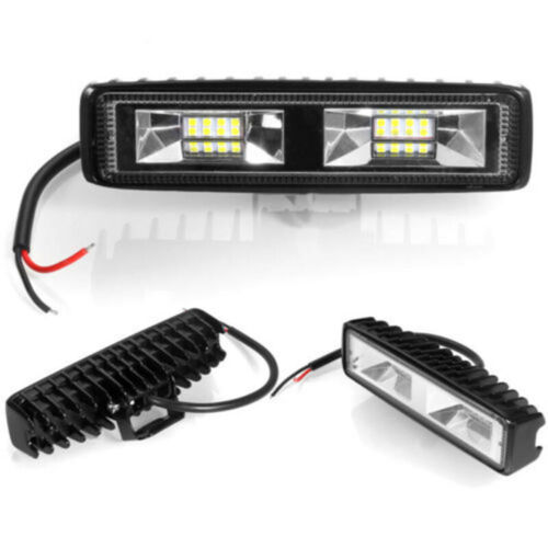 Universal Fog Light Professional Spot Driving Lamp For SUV Off-Road 2x 18W 12V
