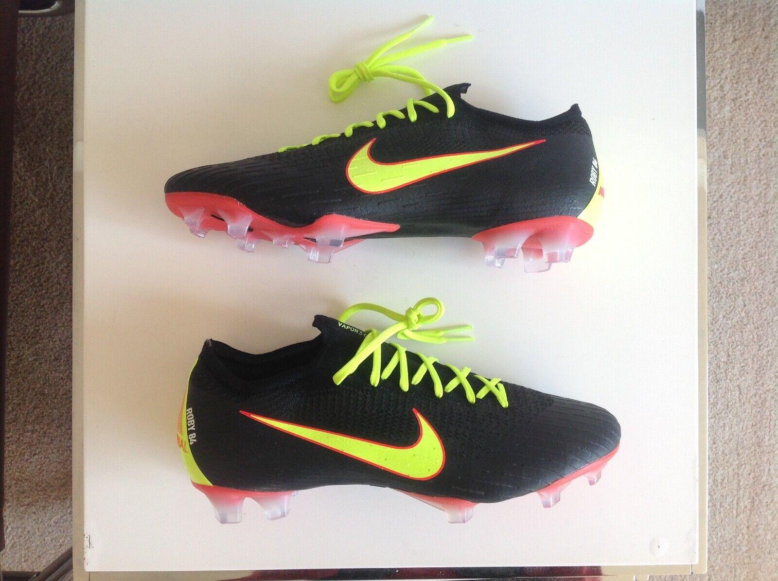Nike ID Mercurial Vapor XII Elite Fg botas De Fútbol 8.5 nos 9.5 EUR 43 Negro