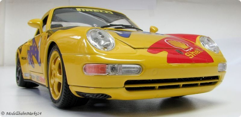 BBURAGO PORSCHE 911 Carrera rennversion