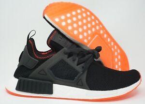 innovative design 1874f 5dd4f Image is loading Adidas-Mens-Originals-NMD-XR1-Running-Shoes-Black-
