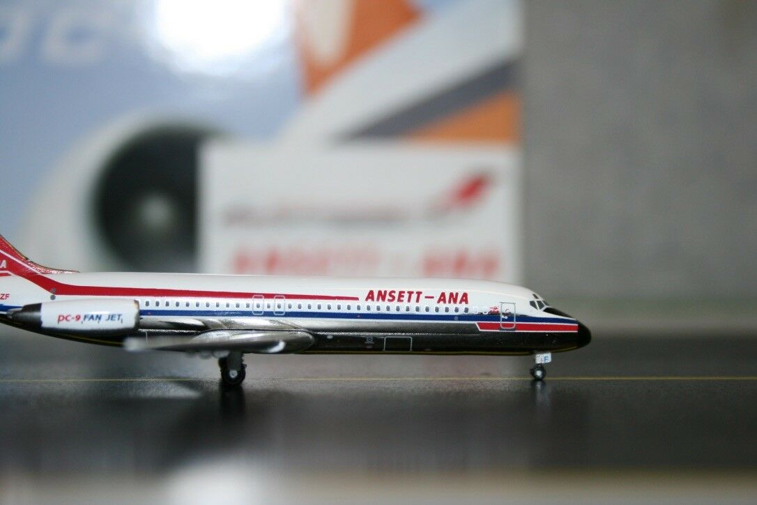 Jet-X 1:400 Ansett-ANA Douglas DC-9-31 VH-CZF  JX234B    Die-Cast Model Plane ee9d0a