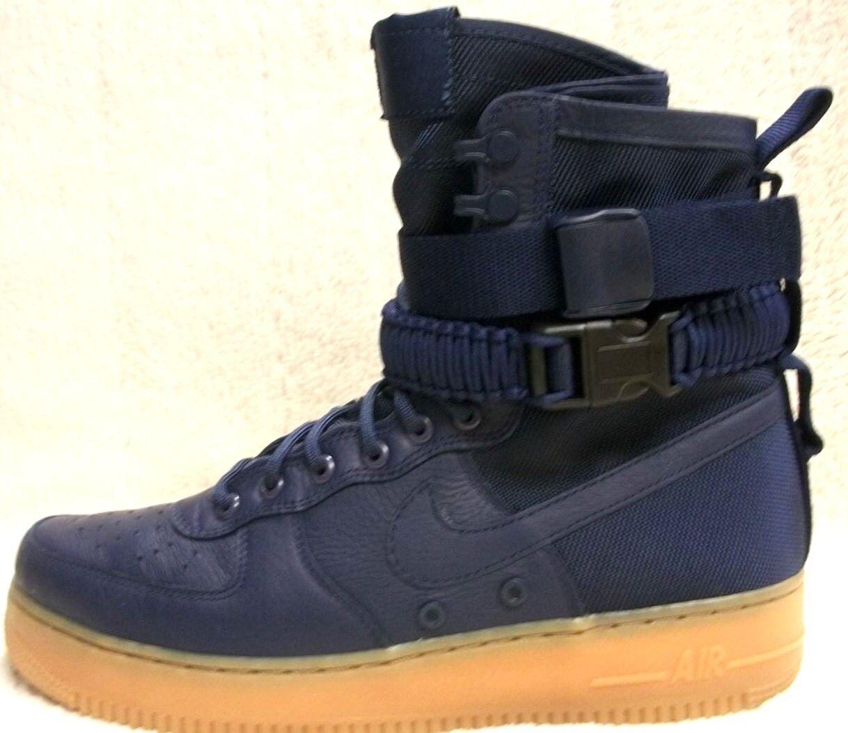 Nike SF AF1 864024 400 Midnight Navy Men's Size 10 Mfg Ret  180