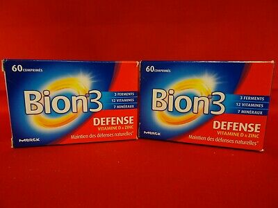 Bion3 Defense Vitamines D Zinc Defenses Naturelles Comprimes 07 21 Lot De2 Ebay