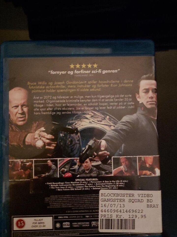 Looper, Blu-ray, andet
