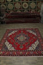 10X10 Beautiful S Antique Square Tabriz Persian Rug Oriental Area Carpet 9'4X9'6