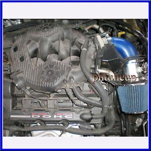 BLUE Filter for 01-04 Stratus Sebring 2.7L V6 Short Ram Air Intake Kit