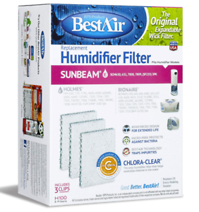 Details about RPS Products BestAir Replacement Humidifier Universal Expandable Wick H100 NIB