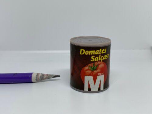C006 Dollhouse Miniature Domates Salçası tomato paste pasta migros supermarket