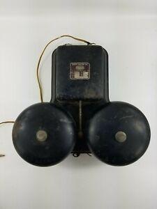 Sperti-Faraday-Vintage-Fire-Alarm-Gong-Bell-School-201032-80v-m-6