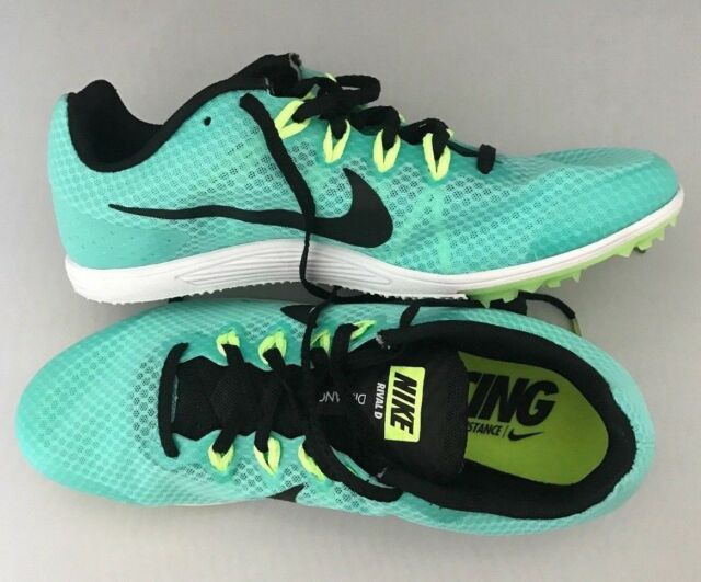 643490d5e5d Nike Mens Zoom Rival D 10 Racing Distance Track Shoes Green Size 8.5 ...
