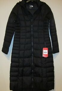 2412d9565 Details about The North Face Triple C II Goose Down Parka Women's Hooded  Long Coat