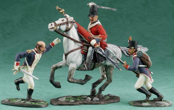 "17367 - ""Scotland Forever"" - Sgt. Charles Ewart - Napoleonic - W Britain"