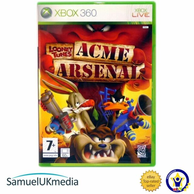 Looney Tunes: Acme Arsenal (Xbox 360) **GREAT CONDITION**