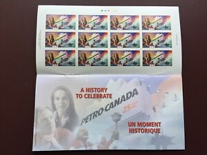 Canadian-Stamp-Booklet-2000-46-cent-PETRO-CANADA-Pane-of-12-BK231-c-w-Booklet