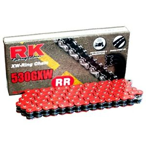 Rk X-Ring Chain 520Xso/112 Open Chain With Rivet Link For