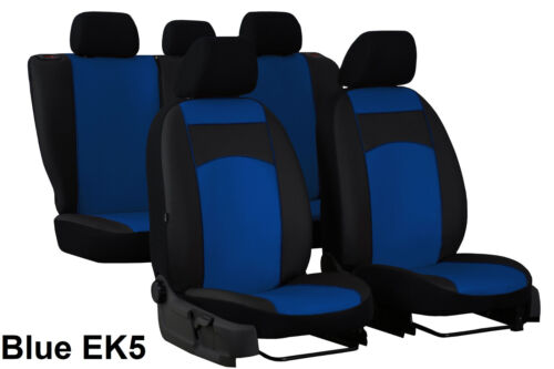 SEAT LEON Mk2 2005-2012 ECO LEATHER TAILORED SEAT COVERS MADE TO MEASURE FOR CAR