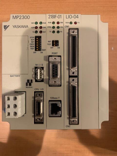 Yaskawa JEPMC-MP2300 Motion Controller With 217IF-01