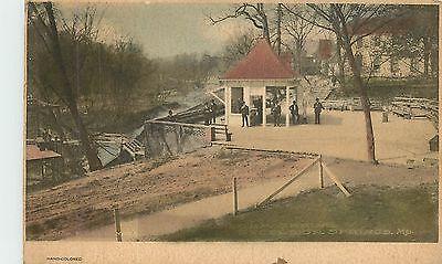 EXCELSIOR SPRINGS, Missouri MO-1914 Sulpho Saline Pavilion