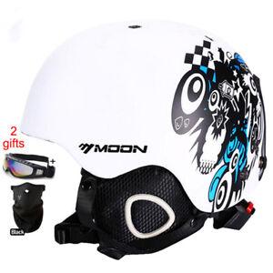 Helmet-Snowboard-Ski-Adult-Protective-Matte-Skateboard-Winter-Moon-Lucky-Bums