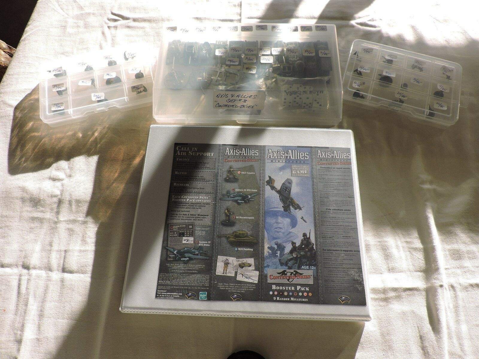 AXIS AND ALLIES MINIATURES   CONTESTED SKIES