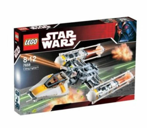 Lego 7658 Star Wars Y-wing fighter Plumes retraité
