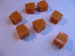 LPA-Terminal-Block-2-Pins-PCB-Mount-NOS-Qty-7