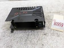 2002 VW Passat GLX Audio AMP Amplifier Sound Rear Inner Trunk