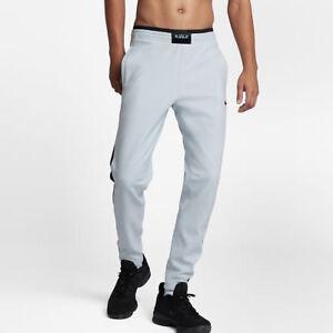 5202f84fe643 Nike Lebron Men s Shield Flex Pants L Platinum Gray Gym Casual ...