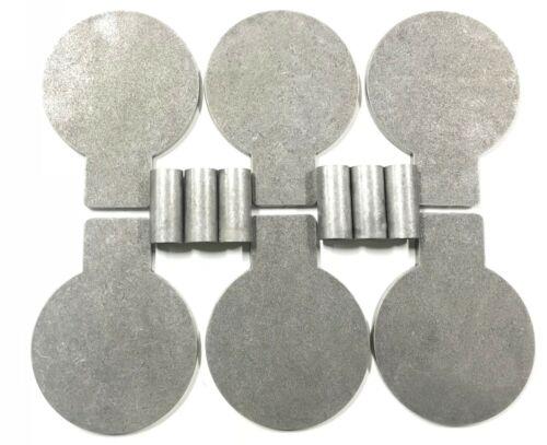"6 AR500 6/""X 3//8/"" Steel Target Plate Rack DIY Kit DOM Pivot Tube"