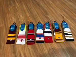 Stance-NBA-Basketball-Fusion-Core-Crew-Socks-Choose-Team-Colors-26-Large-9-12