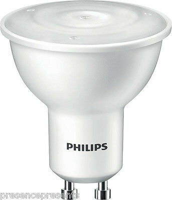PHILIPS DIMMABLE GU10 4w LED ENERGY WARM WHITE HIGH POWER SPOT LIGHT BULBS