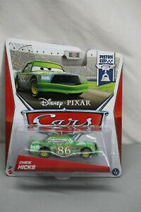 Disney Pixar Cars Chick Hicks Scavenger Hunt Rubber Tires /& Trophy Diecast VHTF