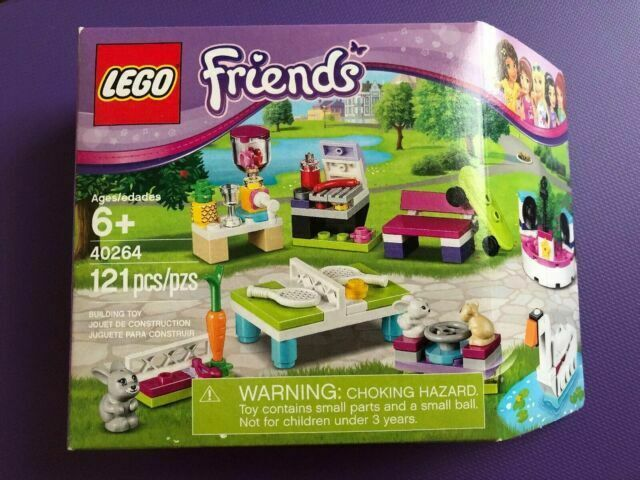 LEGO 40264 Friends Build My Heartlake City Accessory Set Store Exclusive Bunny