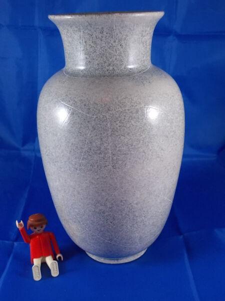 'vaso Richard Uhlemeyer Hannover Art Deco Reduktionsglasur 23cm
