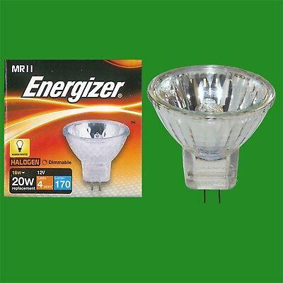 6x 20W MR11 2 Pin GU4 Halogen Reflector Spot Light Bulb Lamp 12V UV Filter