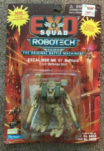 ExoSquad Robotech Series SEALED Excaliber MK VI Battloid Both COLORS NIB NEW