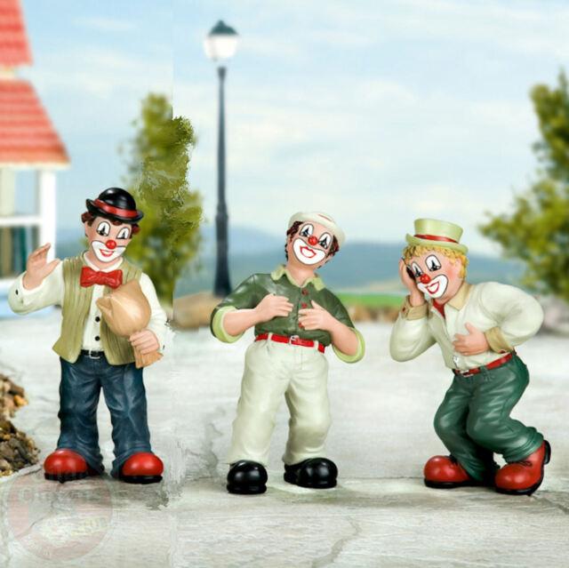 Gilde Clown Figur Die Clowns Der große Knall, Das Lachduett I und II zur Auswahl
