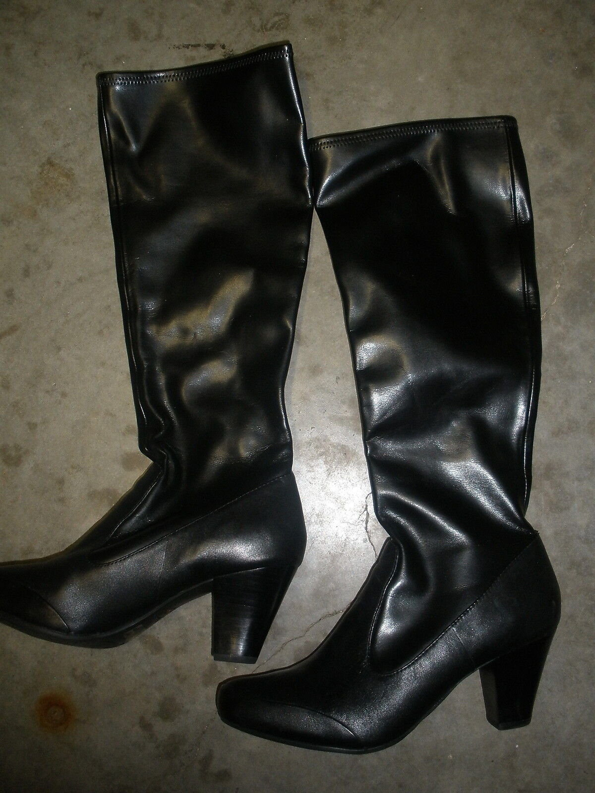 Artisan Collection Black Diamond Glow Black boots size 9W 82986 retails  95