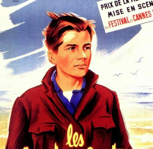 Details about  /400 BLOWS 1959 Classic French Film By Francois Truffaut Vintage Poster Print