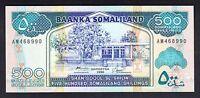 Somaliland  500 Shillings 1996  UNC  P. 6,  Banknote, Uncirculated